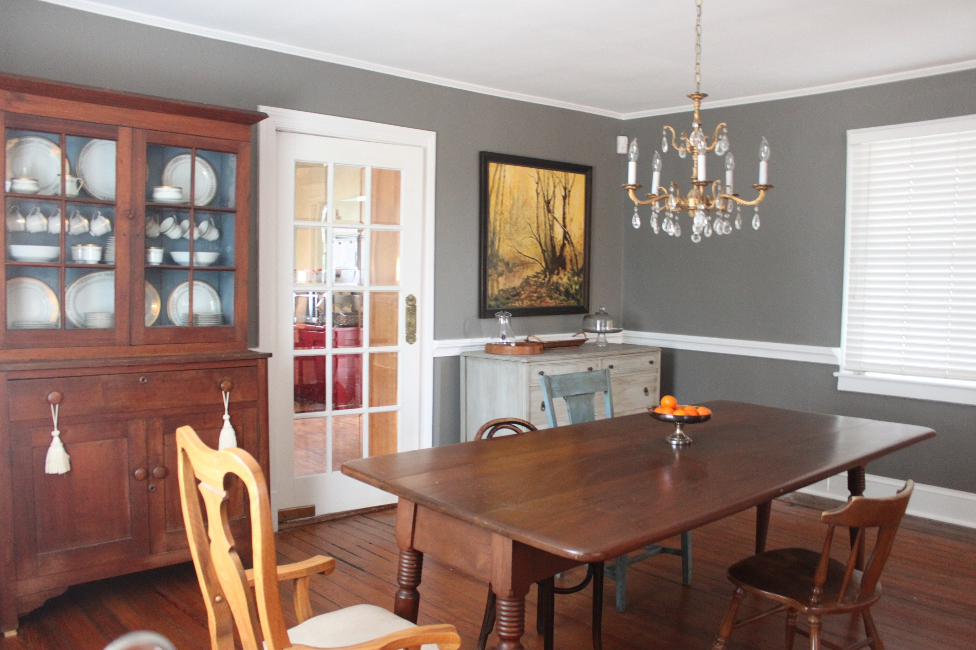 Dining room painted by Global Painting RVA